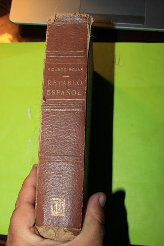retablo español  ricardo rojas