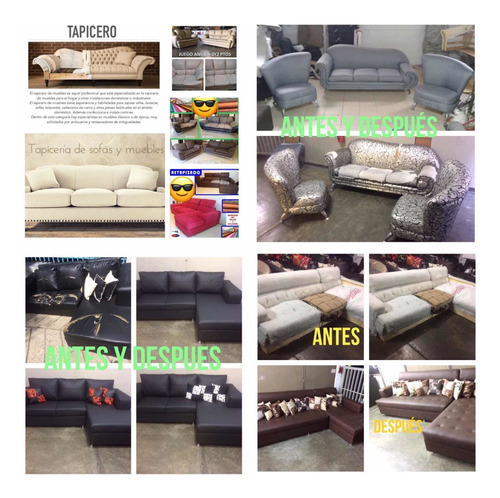 retapizado /restauración/fabricantes de muebles ccs