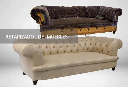 retapizados y reparación de sofás, sillones, poltronas...
