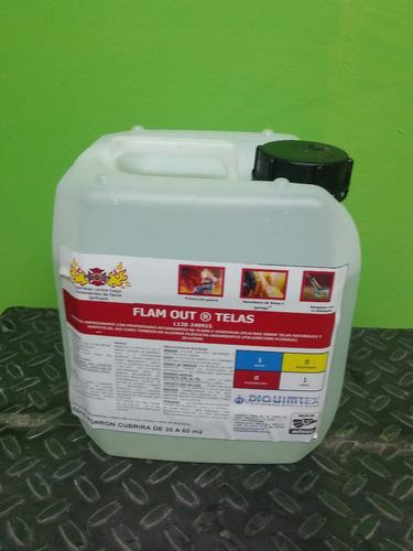 retardante de flama  para telas 20 lt antiflama liquido