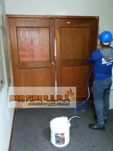 retardante de fuego - pintura ignifuga