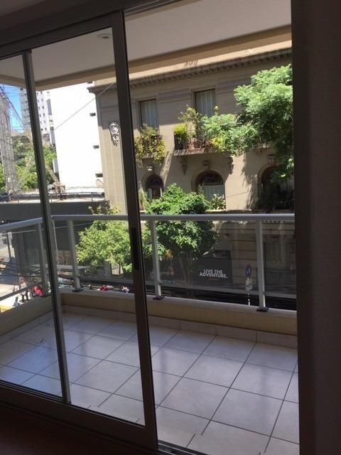 retasado! monoambiente piso 6 c/balcon impecable!