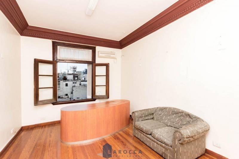 retasado!! oficina en venta 5 amb vista abierta apto profesional en san nicolas
