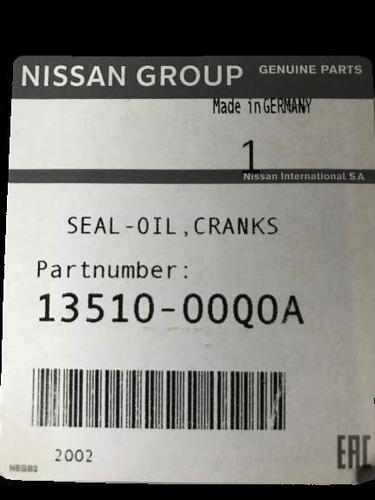 reten cigueñal frontal original nissan np300