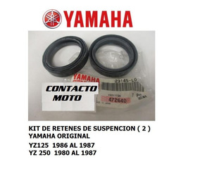 Retenes Suspension Yz125 86 /250 80/87 Yamaha Original