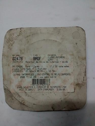 retentor caixa cambio saida ford cargo ii 17/22 cod-02478bag