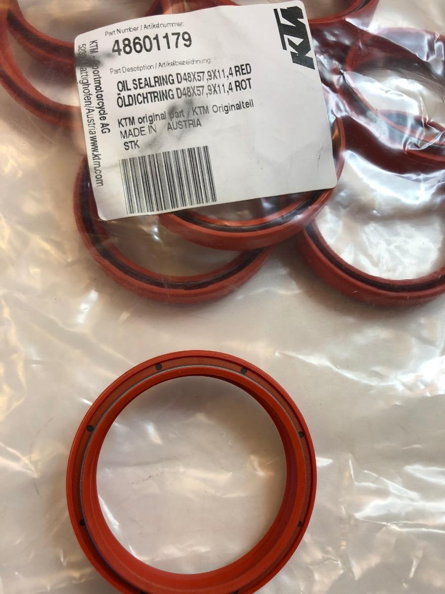 Retentor De Oleo Do Garfo Ktm 150 A 450cc 14 16 48x579x114 R Wiring Diagram 2006 200 Exc Carregando Zoom