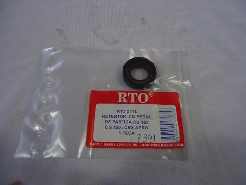 retentor pedal partida titan/150/aero rto
