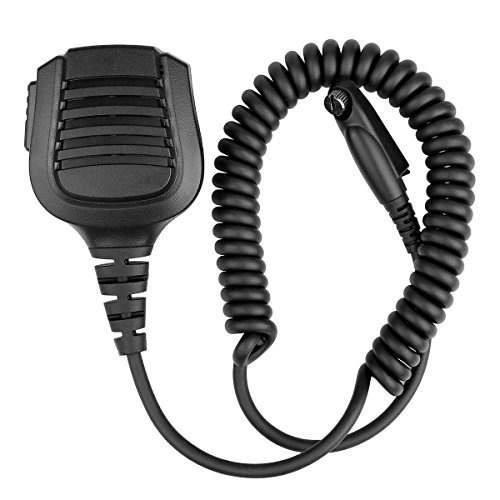 Retevis Ip54 Waterproof Shoulder Speaker Mic With Reinforced