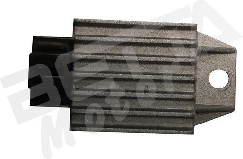 retificador de voltagem 4 pinos mini moto e quadriciclo