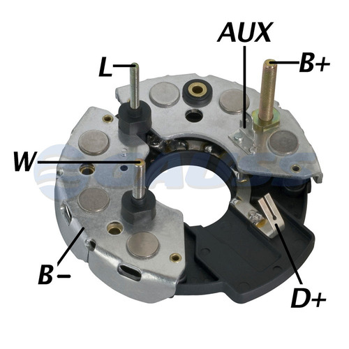 retificador para alternador - gauss  ga1366