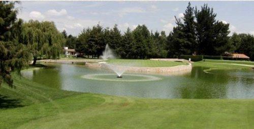 retírese en medio del bosque jugando golf, deptos de 325 m2 lerma, edo. mexico