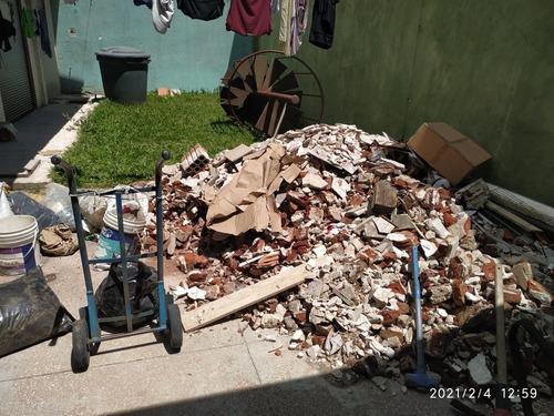 retiro de escombro fletes