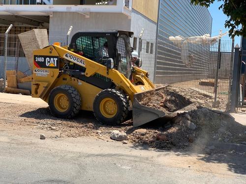 retiro de escombros, aridos y movimiento de tierra