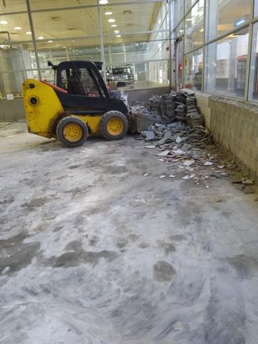 retiro de escombros en botadero autorizado, venta de aridos