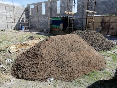 retiro de escombros en torreón, arena y grava en torreón jp