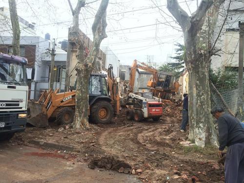 retiro de escombros y limpieza de terrenos