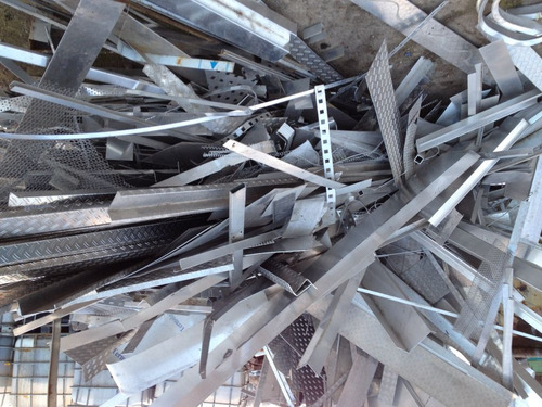 retiró rezagos de aluminio (scrap) en todas sus formas