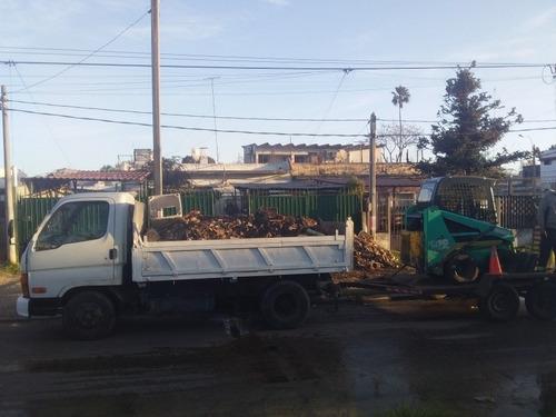 retiros en gral.escombros , demoliciones , excavaciones etc