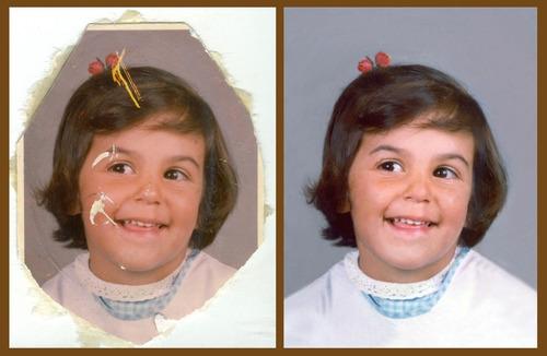 retoque fotografico profesional restauración y corrección