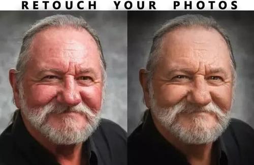 retoque profissional de fotos + remoção de fundo e manchas