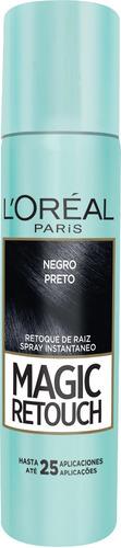 retoque raiz spray instantâneo magic retouch preto