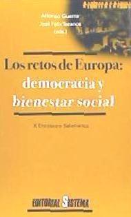 retos de europa: democracia y bienestar social(libro )