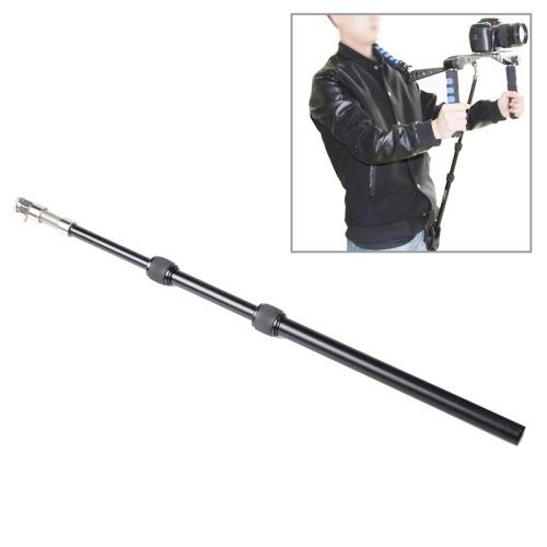 retractable shoulder montaje dslr rig support rod with belt