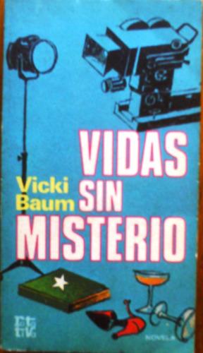retrato de hollywood  vidas sin misterio vicki baum