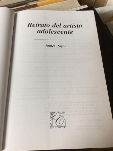 retrato del artista adolescente, james joyce