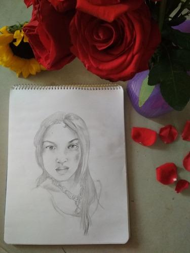 retrato para san valentín 14 de febrero