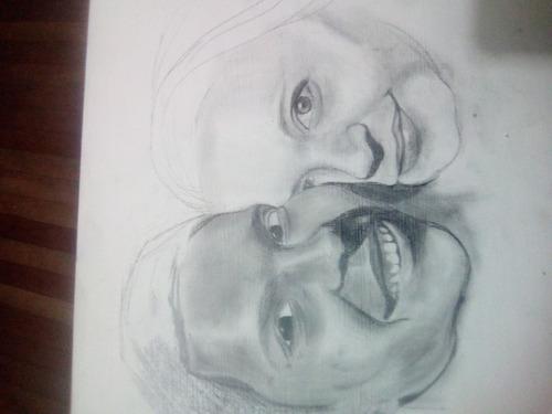 retratos a lapiz