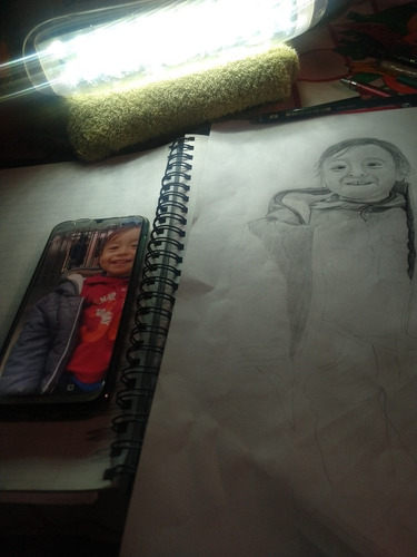 retratos a pedido