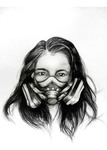 retratos (lápiz, carboncillo, acuarela,etc)