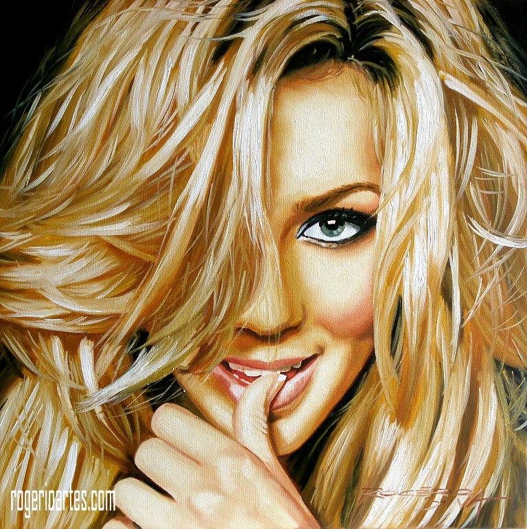 Retratos Pintura Em Tela Desenho Grafite R 449 00 Em Mercado Livre