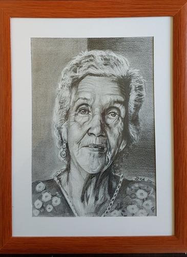 retratos realistas para el dia de la madre o padre