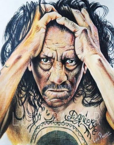 retratos y dibujos realistas