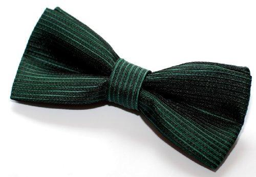 retreez raya textura tejida pre-atado corbata de lazo...