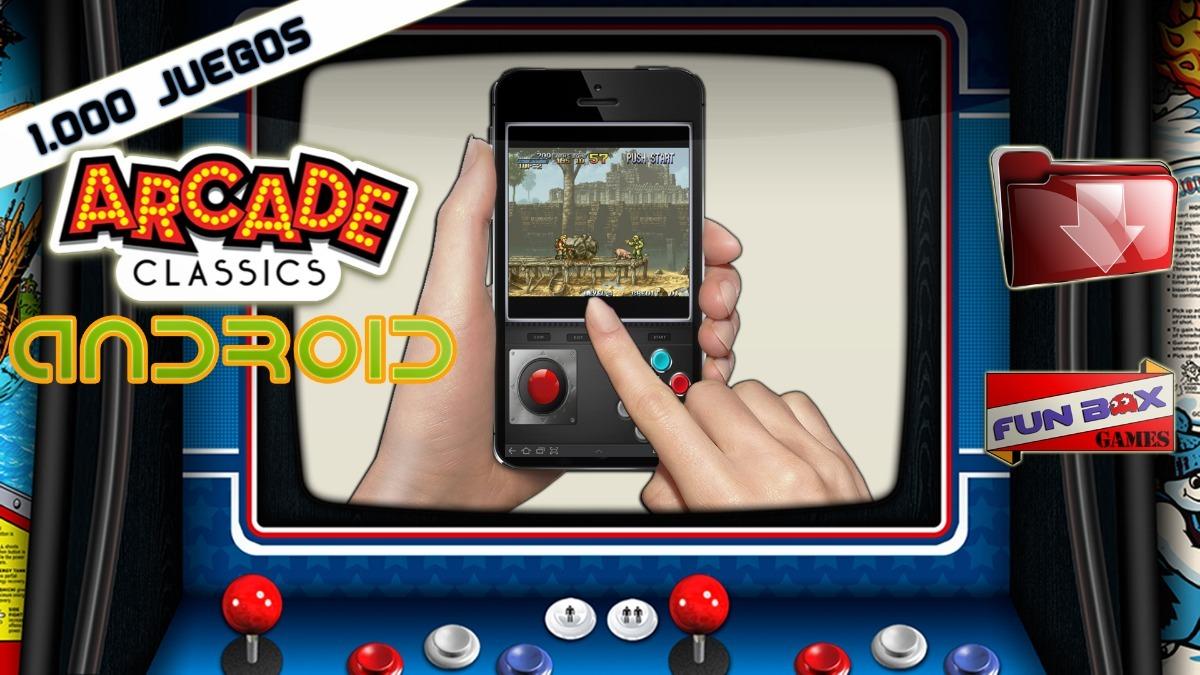 Retro Arcade 1000 Juegos Clasicos Para Android Descargable