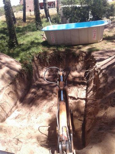 retro ,arena pedregullo limpieza y rellenos de terrenos