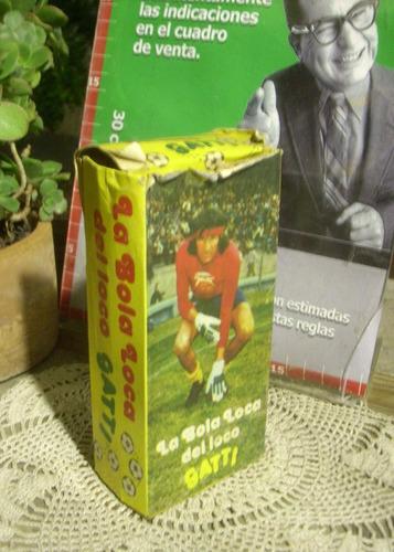 retro caja la bola loca del loco gatti vacia  (6490)
