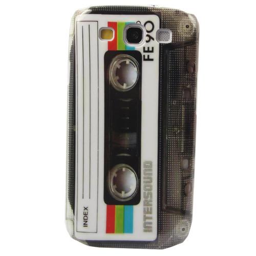 retro casette  carcasa samsung galaxy s3 diseño rigido i9300