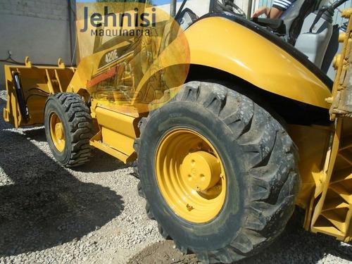 retro caterpillar 420e 416 tracción 4x4 extension recien imp