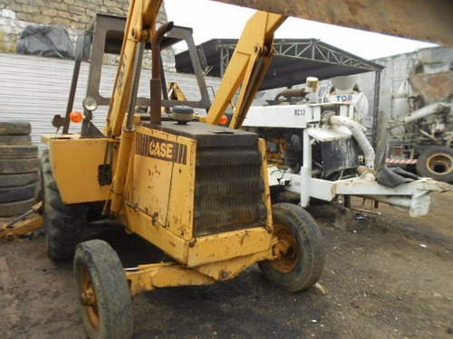 retro escavadeira case 580h ano 1992 maquina trabalhando ok