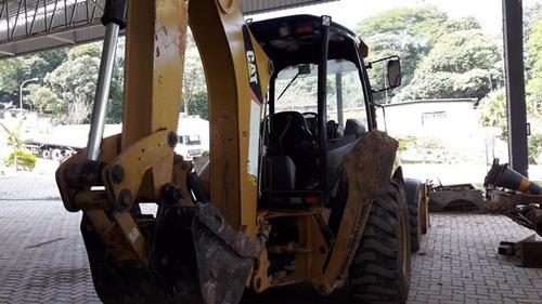 retro escavadeira caterpillar 416 e 4x4  ano 2012