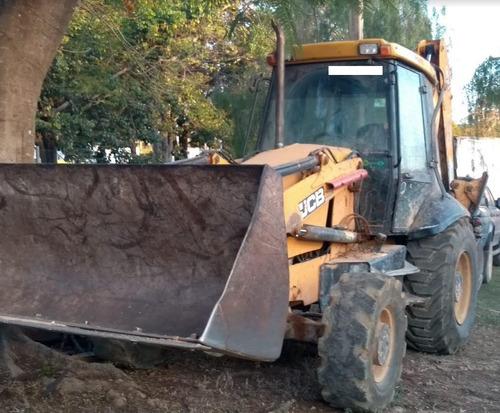 retro escavadeira jcb 3c 4x4 ano: 2011