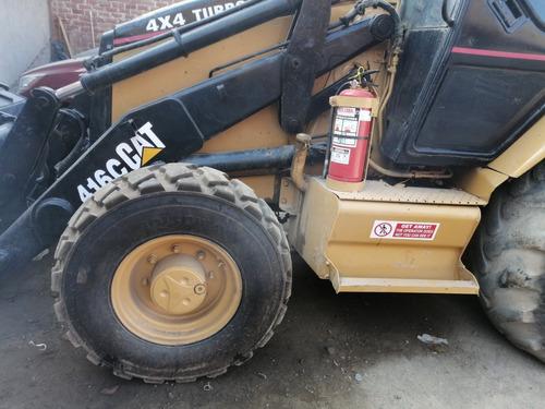 retro excavadora 416c 4x4 turbo brazo extencivle cat it 0per