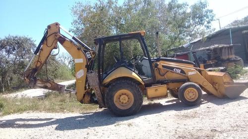 retro excavadora 416e 2006