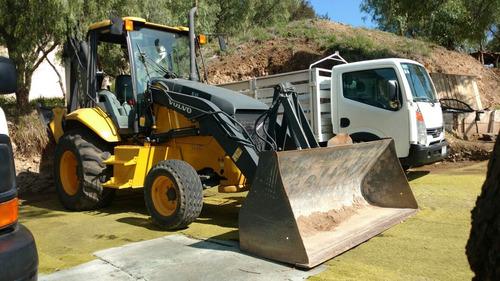 retro excavadora cargadora volvo bl60