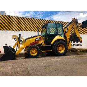 Retro Excavadora Caterpillar Cat 420e 2011 Cab Ext 416e 4x4